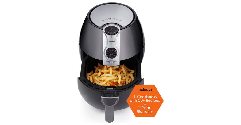 Air Fryer by Cozyna (3.7QT) with airfryer cookbooks (over 50 recipes) - Best Air Fryers