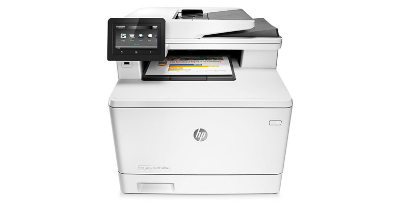 HP LaserJet Pro M477fdn - Best All In One Color Laser Printer