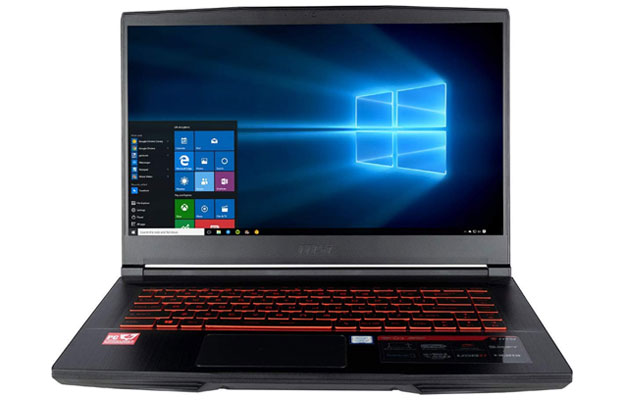 MSI CUK GF63 8RD - Best Gaming Laptops Under 1500 Dollars