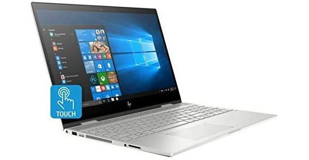 HP Envy x360 15t - Best 2 in 1 Convertible Laptops Under $1000